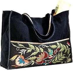 Rustico Velvet Tote Bag