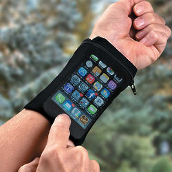 Touch Mesh Phone Wrist Wallet