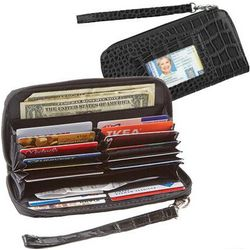 Deluxe Organizer Wallet in Black