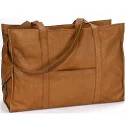 Leather Organization Tote Bag