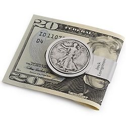 Liberty Coin Money Clip