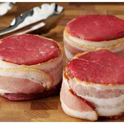Bacon Wrapped Tenderloin Filets