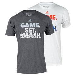 Men's Game Set Smash Tennis T-Shirt