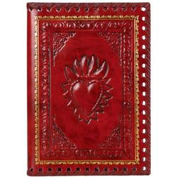 Small Red Leather Romance Journal