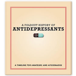 A Foldout History of Antidepressants Book