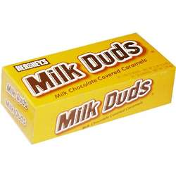 Milk Duds Candy Boxes