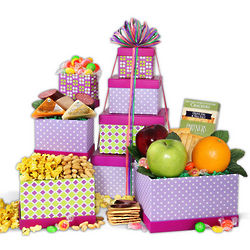 Just for Mom Sweets and Snacks Gift Tower