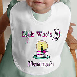 Birthday Kid Personalized Bib