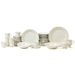 45 Piece French Countryside Dinnerware Set