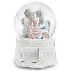 First Love Musical Snow Globe