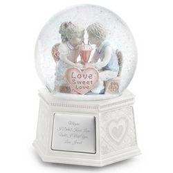 First Love Musical Snow Globe