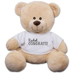Personalized Congrats Teddy Bear