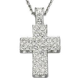 Swarovski Crystal Cross Pendant
