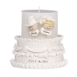 Personalized Wedding Candle Holder