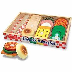 Wooden Sandwich Making Set Toy