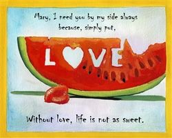 Sweet Love Fine Art Print
