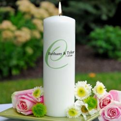 Personalized Elegance Unity Candle