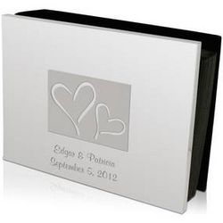 Personalized Heart To Heart Photo Album
