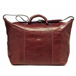 Lugano Italian Leather Travel Bag