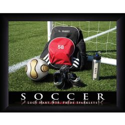 Personalized Soccer Print