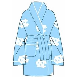 Ladies' UNC All Over Print Cozy Robe