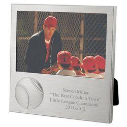 Personalized Baseball Photo Frame