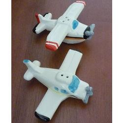 Airplane Salt & Pepper Shakers