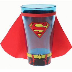 Superman Glass with Cape