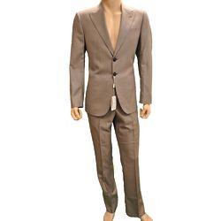Giorgio Armani Beige Wool Suit