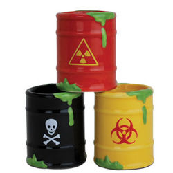 Toxic Waste Shot Glasses