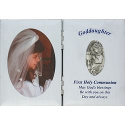 Goddaughter's First Communion Photo Frame