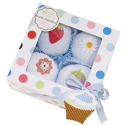 Baby's Blue Cupcake T-Shirt Gift Box
