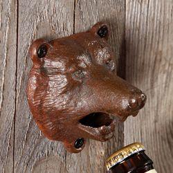 Bear Bite Wall Mounted Bottle Opener