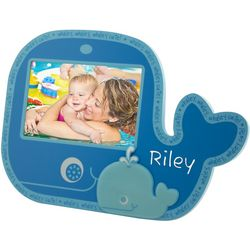 Baby Whale Personalized Wooden Photo Frame