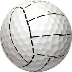 Volleyball Golf Ball