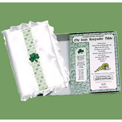 Irish Keepsake Baby Bible