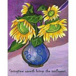 Vase-full o' Sunshine Fine Art Print