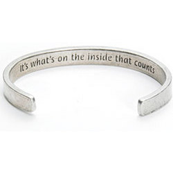 It's What's On The Inside Cuff Bracelet
