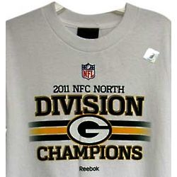 Packers Mens 2011 NFC North Champions T-Shirt
