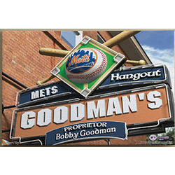 Personalized New York Mets 24x36 Canvas Print