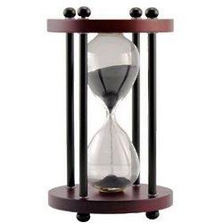 Personalized Walnut Hourglass