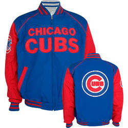 Chicago Cubs Current and Classic Logos Reversible Jacket