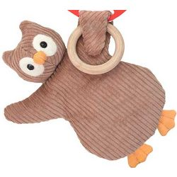 Organic Cotton Pacifier Owl Pal