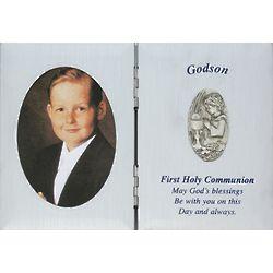 Godson's First Communion Photo Frame