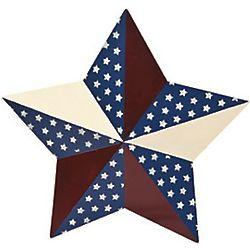 Patriotic Barn Star Yard Stake