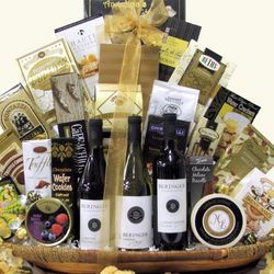 Beringer Founders Estates Cellar Wine Trio Gift Basket