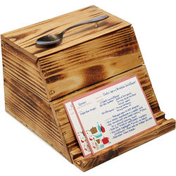 Pallet Wood Recipe Box