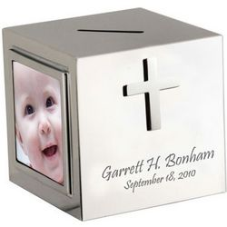Silver Cross Personalized Photo Bank