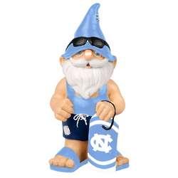 North Carolina Tar Heels Beach Mini Gnome