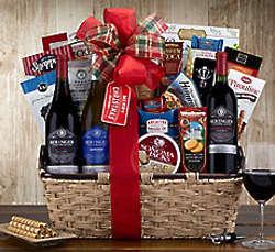 Beringer Founders' Estate Trio Wine Gift Basket